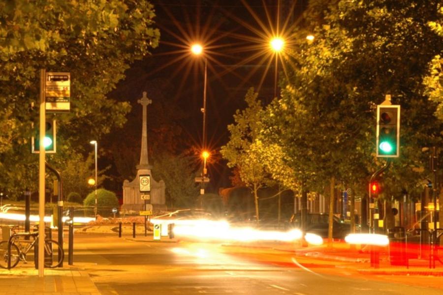 lumière en ville