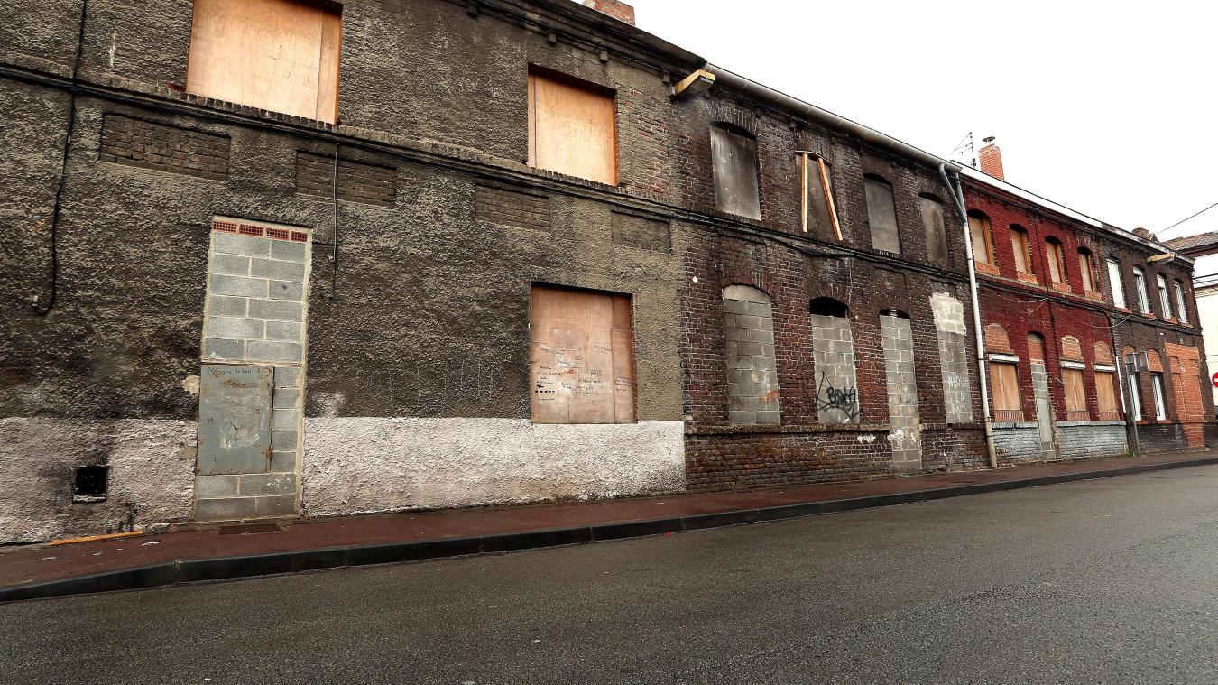 Maisons abandonnées - dépeuplement des villes