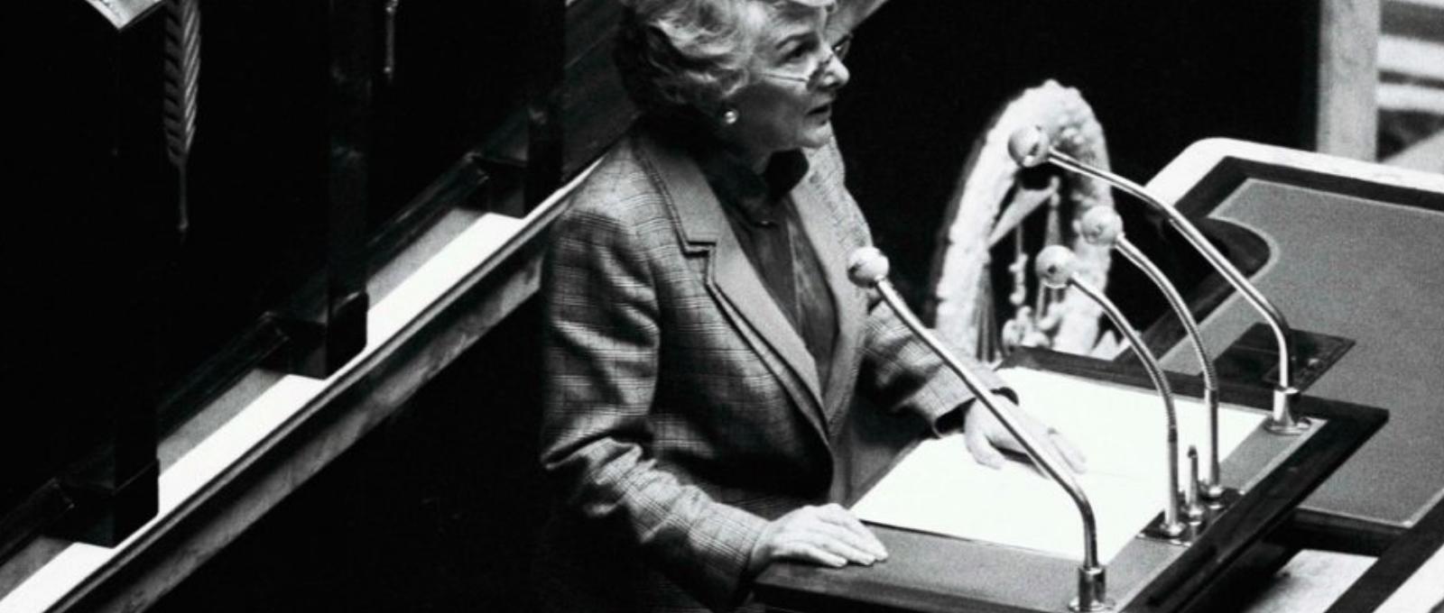 Yvette Roudy - ministre droits des femmes