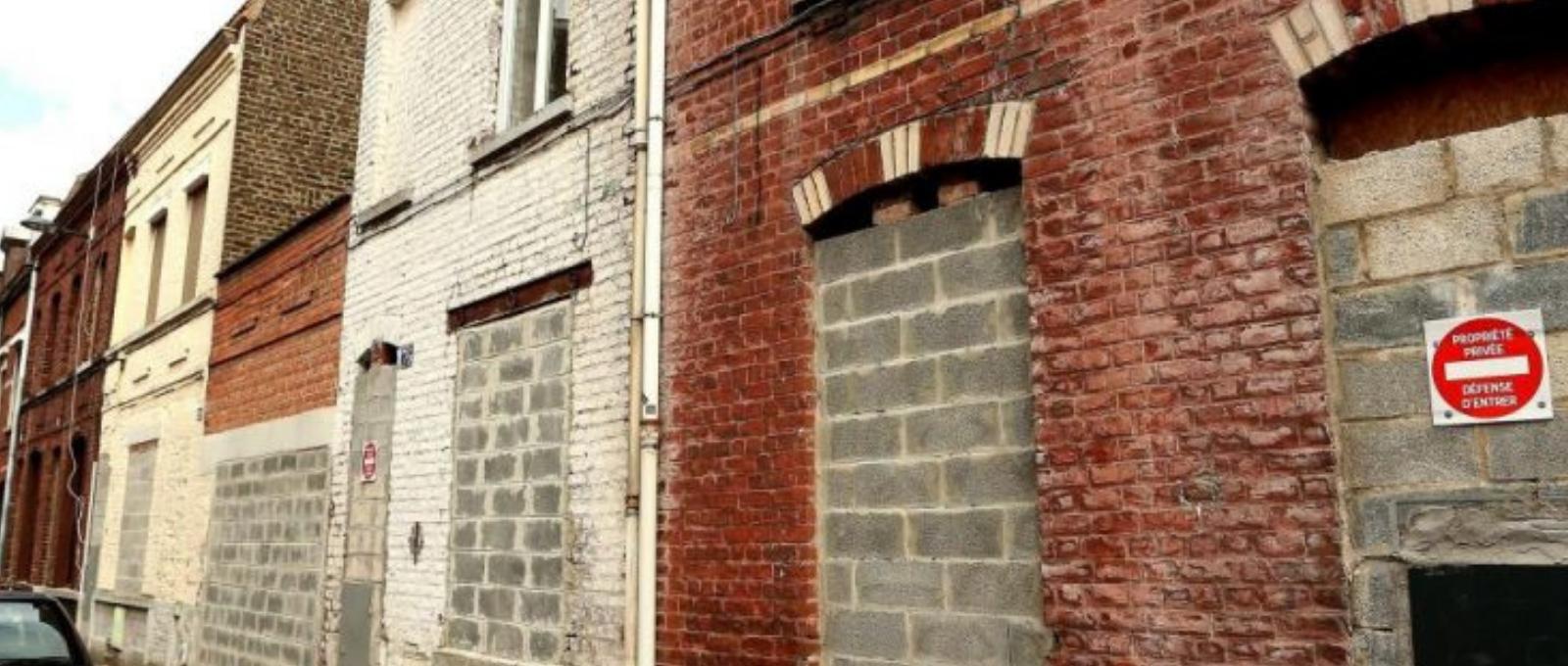 Maisons murées - dépeuplement