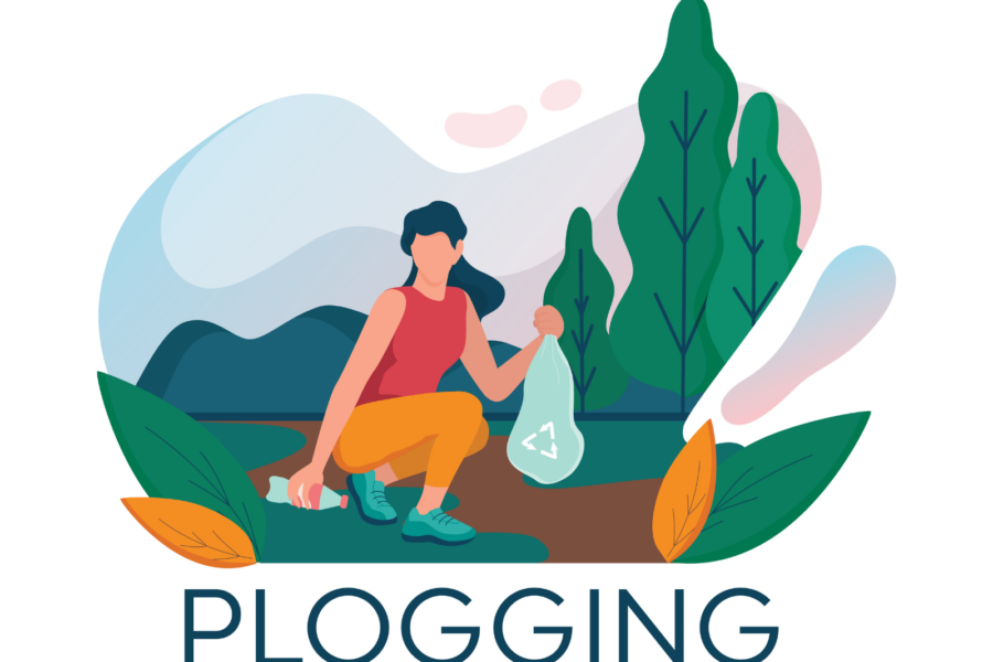 plogging - jogging