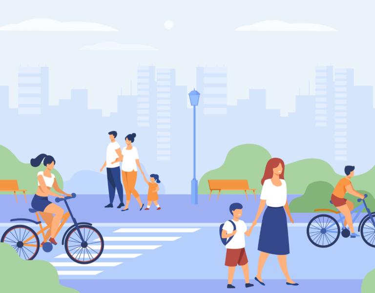 femmes en ville - espace urbain