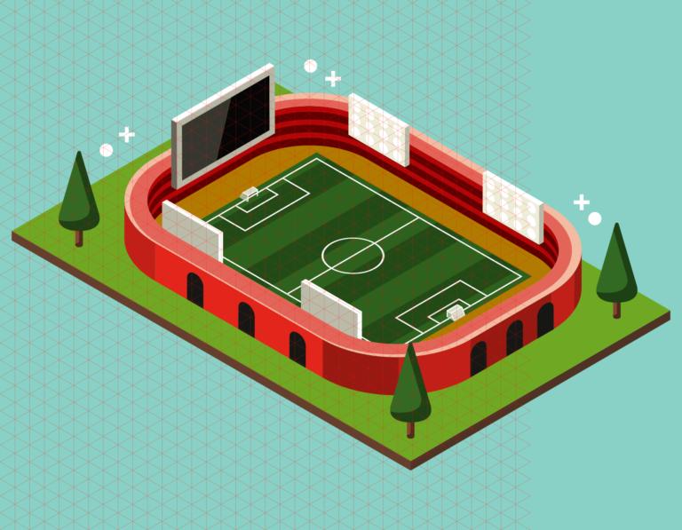 Stade communal inauguration