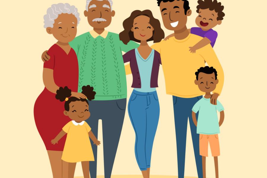 Famille - mamie - intergénération