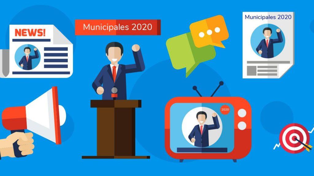 communication electorale municipales 2020
