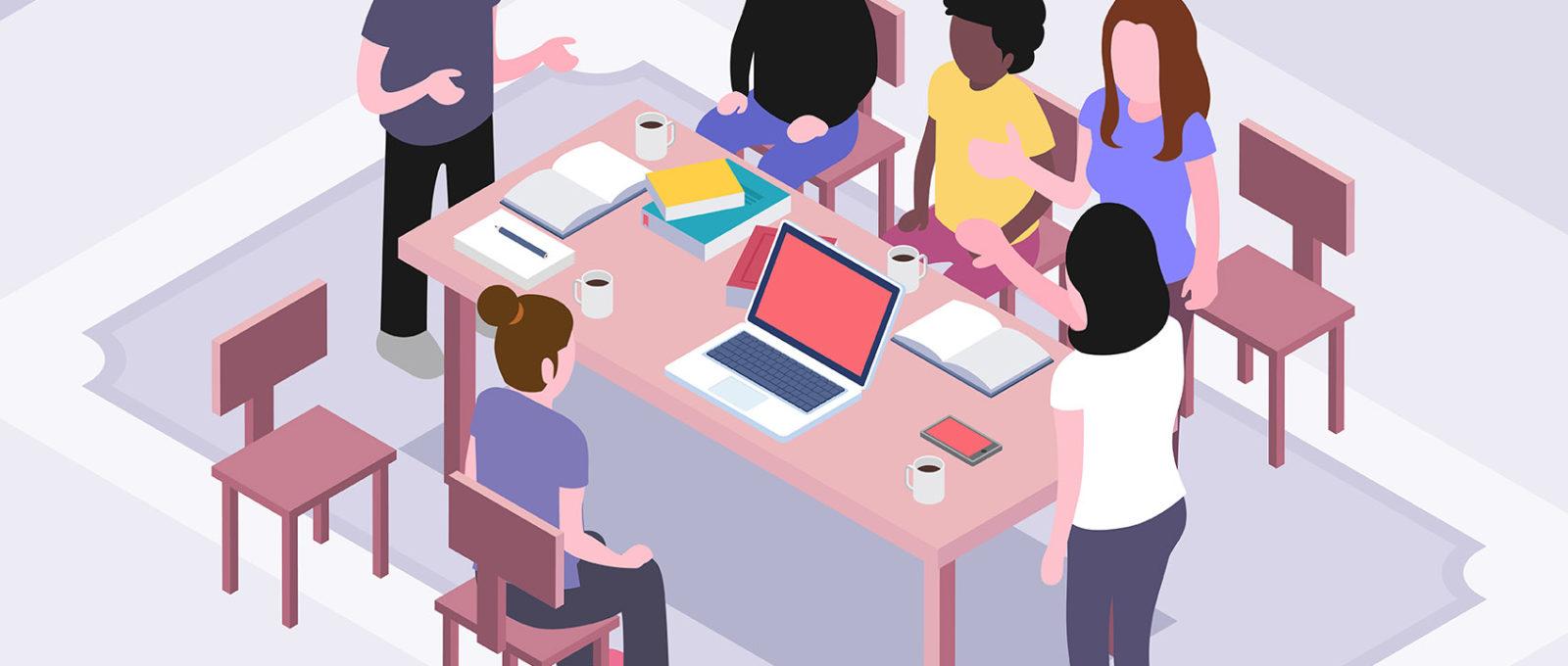 animer réunion publique