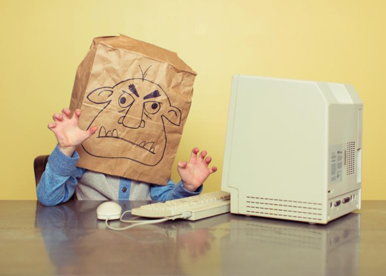 troll réseaux sociaux