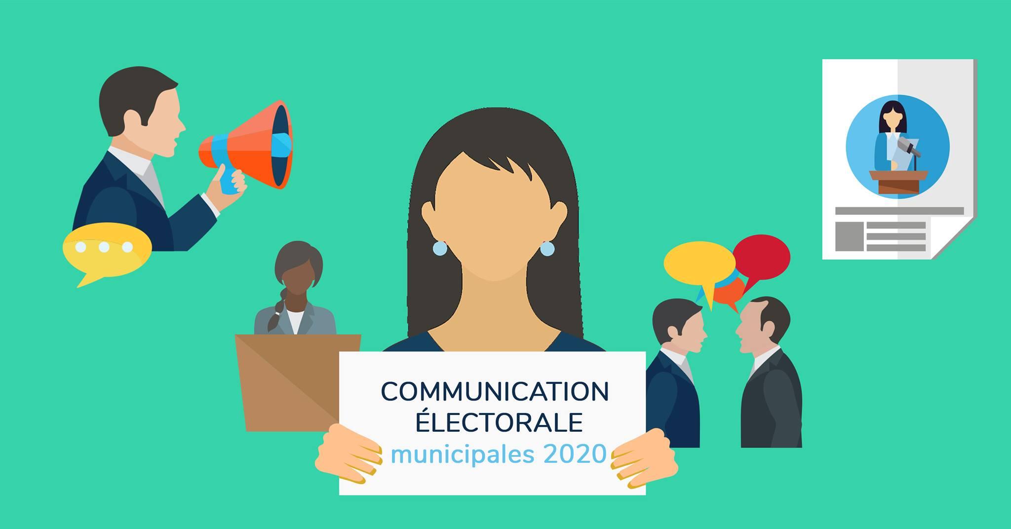 communication électorale écrire profession de foi débat face à la presse